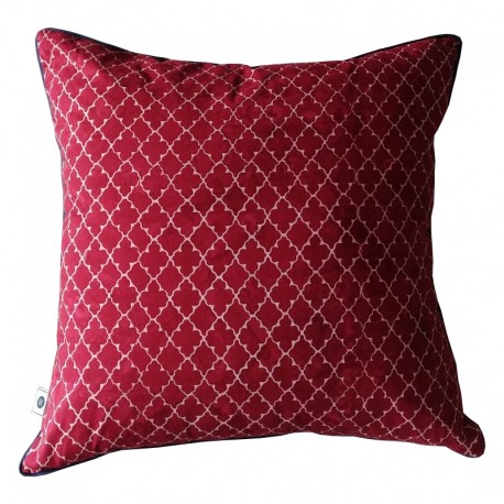 Poduszka Quaterfoil Ruby by Hamptons and more CO.