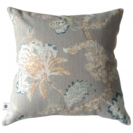 Poduszka Nature Flora Taupe by Hamptons and more CO.
