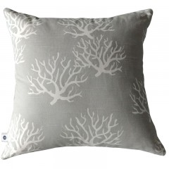 Poduszka Coral Grey By Hamptons And More Co