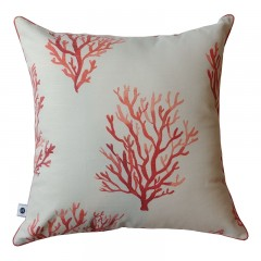 Poduszka Coral Slub Red