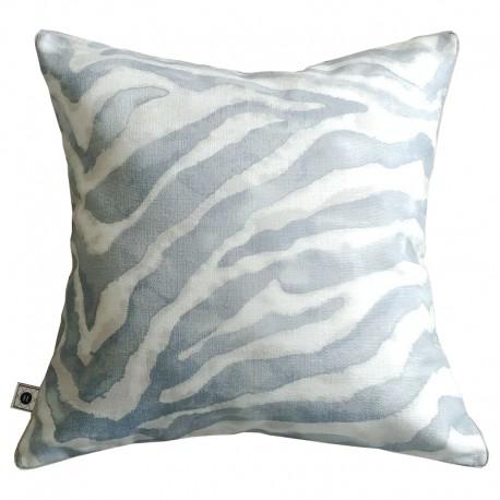Poduszka New Hamptons Zebra Dusty Blue