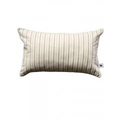 Poduszka Linen Stripe Light Gray 30x50