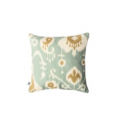 Poduszka IKAT MINT by Hamptons and more CO.