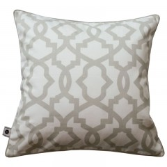 Poduszka TRELLIS Grey by Hamptons and more CO.