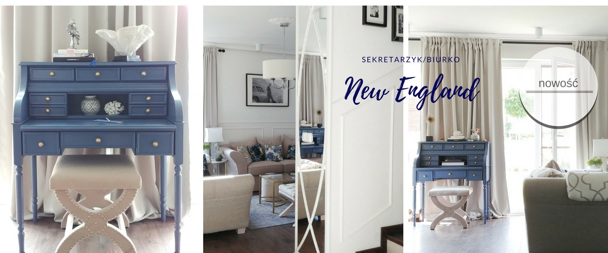 Sekretarzyk New England by Hamptons and More